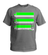 SafetyShirtz - Washington Safety Shirt - Green/Gray