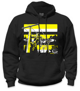 SafetyShirtz - Lineman Safety Hoodie - Yellow/Black