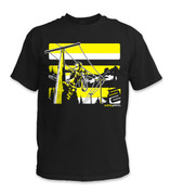 SafetyShirtz - Lineman Safety Shirt - Yellow/Black
