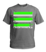 SafetyShirtz - Oregon Safety Shirt - Green/Gray