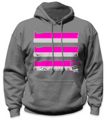 SafetyShirtz - Oregon Safety Hoodie - Pink/Gray