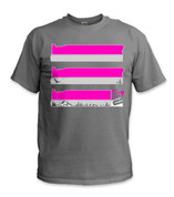 SafetyShirtz - Oregon Safety Shirt - Pink/Gray