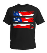 SafetyShirtz - Old Glory Safety Shirt - Red/White/Blue/Black