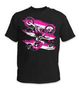 SafetyShirtz - Moto Safety Shirt - Pink/Black