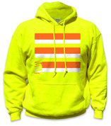 SafetyShirtz - Basic Safety Hoodie - Orange/Yellow