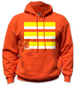 SafetyShirtz - Basic Safety Hoodie - Yellow/Orange