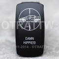 Damn Hippies Rocker Switch - Contura V (VVPZCDH-5001)