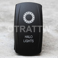 Halo Lights Rocker Switch - Contura V (VVPZCHL-5001)
