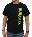 DuramaxGear - Vertical Duramax Tee - Black and Neon (T14009-N)