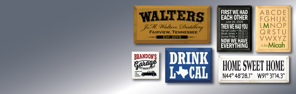 Personalized Signs