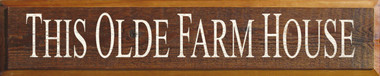Shown on Barnwood with Cream lettering (color, texture, and coverage can vary greatly on Barnwood)