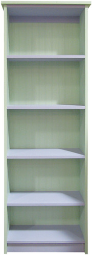 Shown in custom paint style Solid Baby Green and Solid Lavender