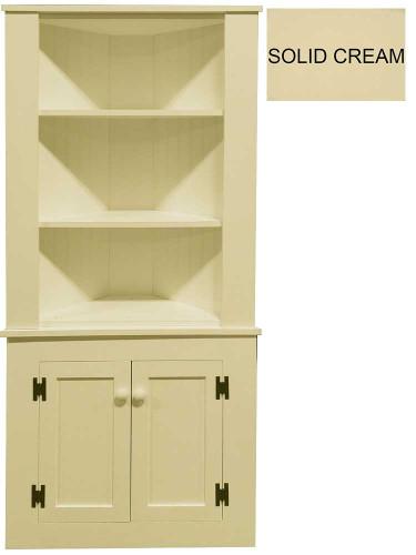 Corner Kitchen Hutch