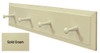 Small Wood Peg Rack  - Shown in Solid Cream