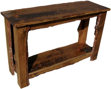 Sofa Table. Rustic Sofa Table