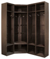 Shown in Old Black with three #111 Lockers (each sold separately)