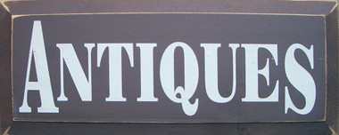 Shown in Old Brown with Cream lettering