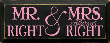 Shown in Old Black with Pink lettering