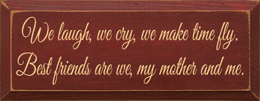 Shown in Old Burgundy with Baby Tangerine lettering