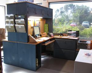 Marvelous CUSTOM   Dual Office Desk