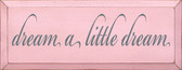 Shown in Old Baby Pink with Slate lettering