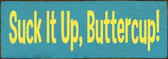 Shown in Old Turquoise with Yellow lettering