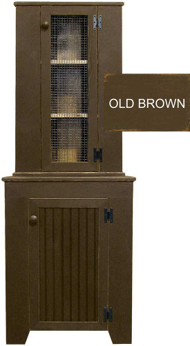Shown in Old Brown