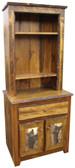 Rustic Cupboard & Hutch - Overstock
