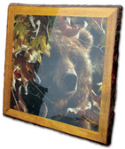 Square Rustic Bear Picture - Overstock