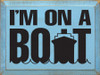 Shown in Old Light Blue with Black lettering