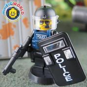 Lego compatible Minifigure Police Riot 4