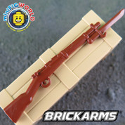 Lego compatible Arisaka Rifle with Bayonet