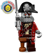 Lego Minifigure Zombie Pirate