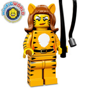 Lego Minifigure Tiger Woman