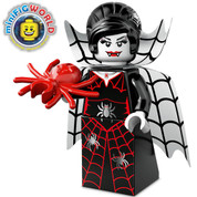 Lego Minifigure Spider Lady