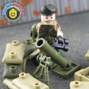 Mortar Fire Base LEGO compatible Set