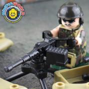 Heavy Machine Gun Fire Base LEGO compatible Set