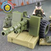 Howitzer Fire Base LEGO compatible Set