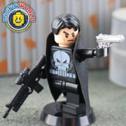 Punisher LEGO compatible Minifigure