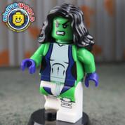 She Hulk LEGO compatible Minifigure