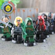 Green Arrow Team vs Villians LEGO compatible Minifigures
