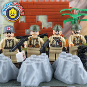 ALLIED WW2 LEGO compatible Minifigures Set