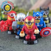 Super Hero Minions LEGO compatible Minifigures Set