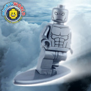 Marvel Silver Surfer LEGO compatible Minifigure