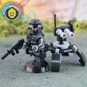 SWAT Robot and Controller LEGO compatible Minifigure