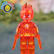 Marvel Fantastic 4 The Human Torch LEGO compatible Minifigure