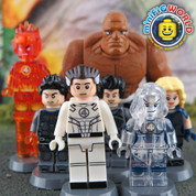 Marvel Fantastic 4 LEGO compatible 7 Minifigure set