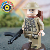Private Smith LEGO compatible Minifigure