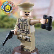 Captain Muldoon LEGO compatible Minifigure