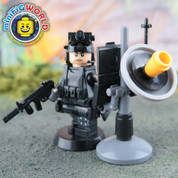 SWAT Communications Controller LEGO compatible Minifigure